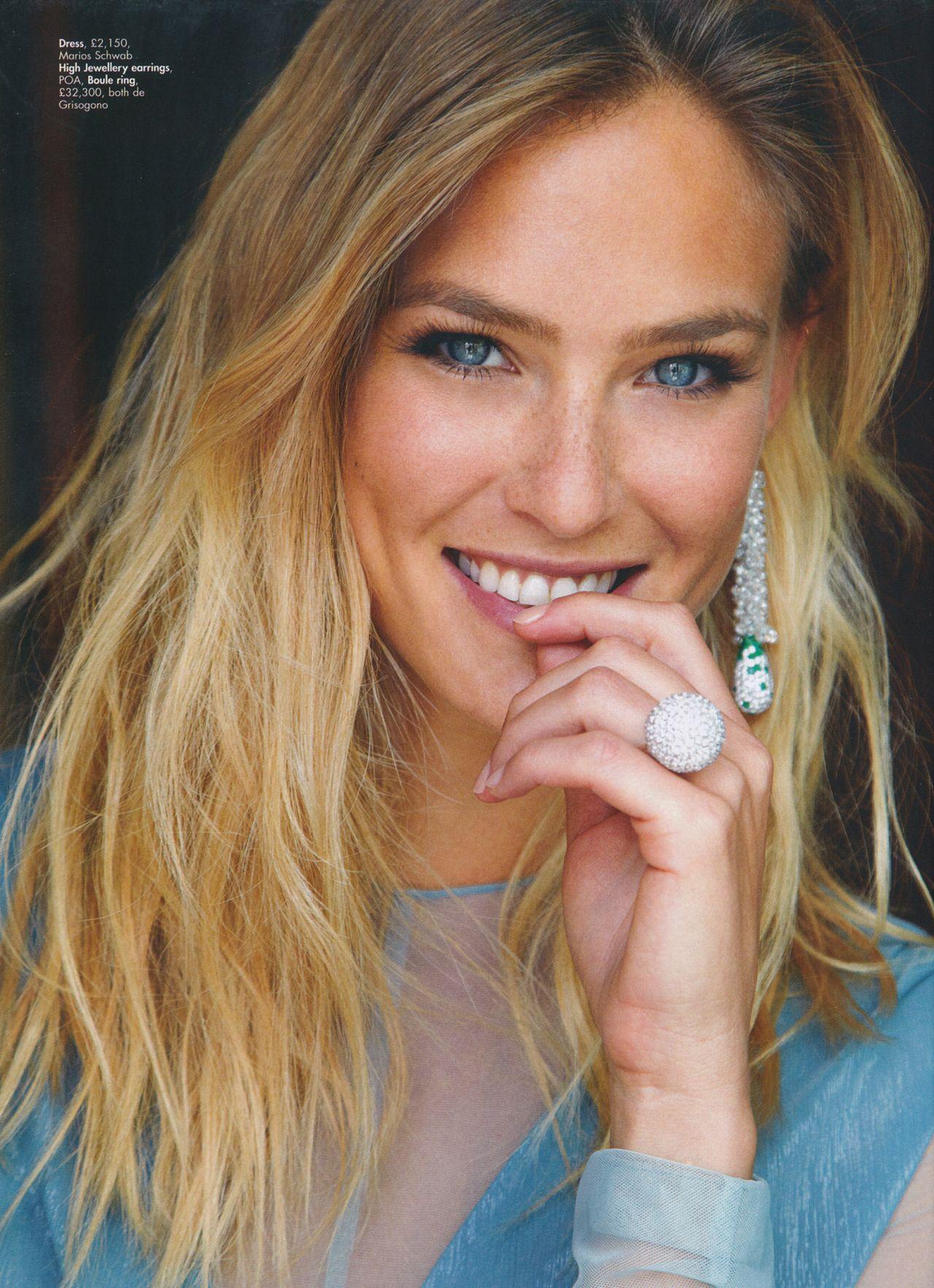 Bar Refaeli – HELLO! Fashion Monthly Magazine – August 2015 Issue