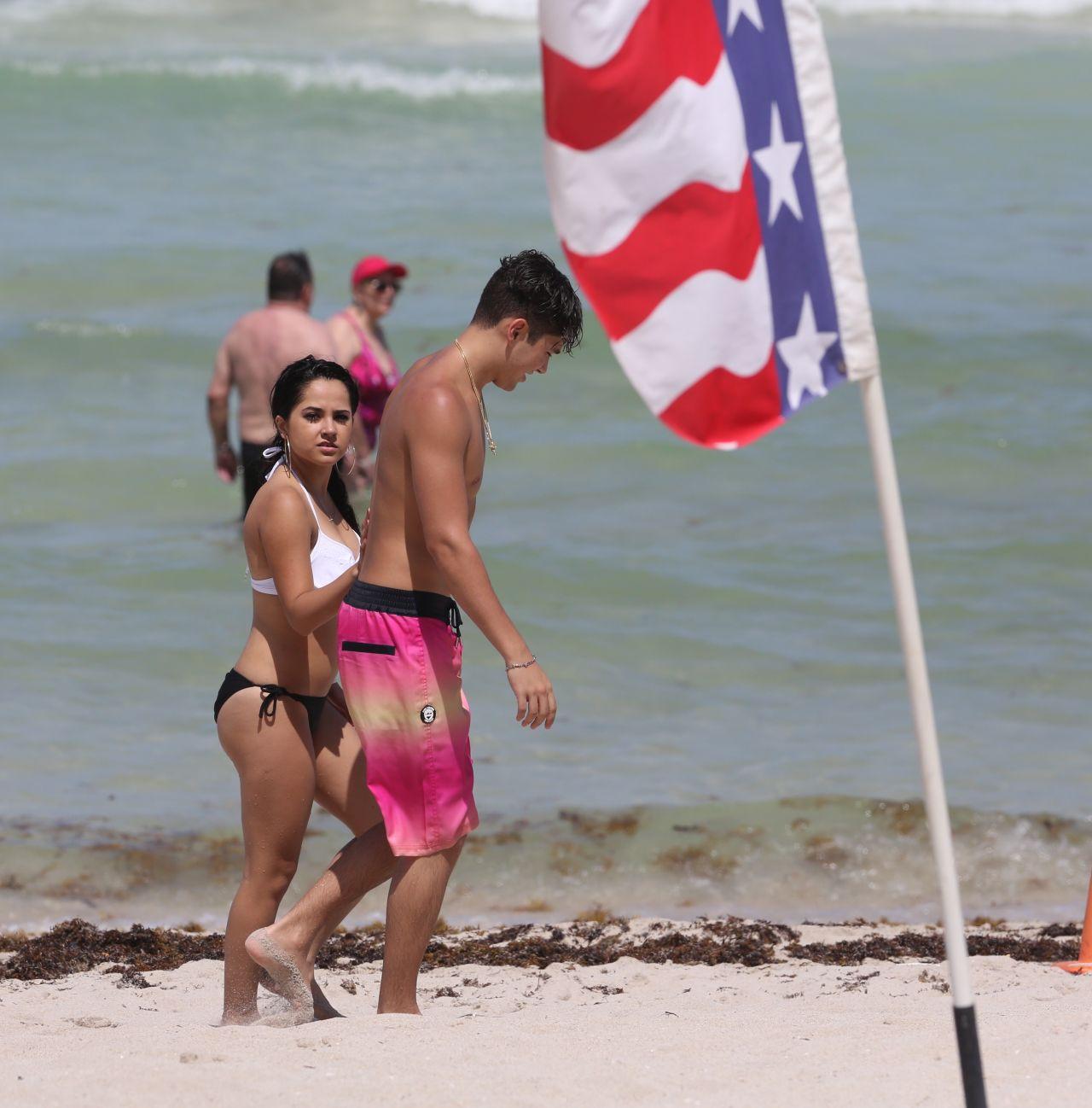 Becky G In A Bikini At Miami Beach July 2015