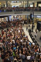 Becky G Performing at the Mall of America in Bloomington, July 2015