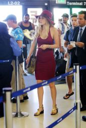 Bella Thorne Airport Style - at LAX Airport, July 2015
