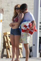 Bella Thorne and Her Boyfriend  - Malibu - July 2015