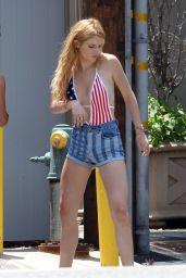 Bella Thorne Out in Malibu, July 2015