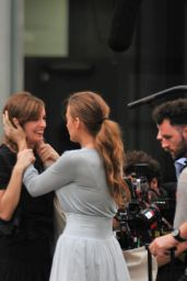 Blake Lively - On the Set of All I See Is You in Barcelona, July 2015