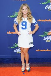 Brec Bassinger – 2015 Nickelodeon Kids' Choice Sports Awards in Los Angeles