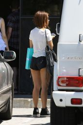 Brenda Song Booty in Shorts - Studio City, July 2015