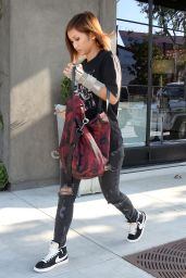 Brenda Song Street Style - Out in West Hollywood, July 2015