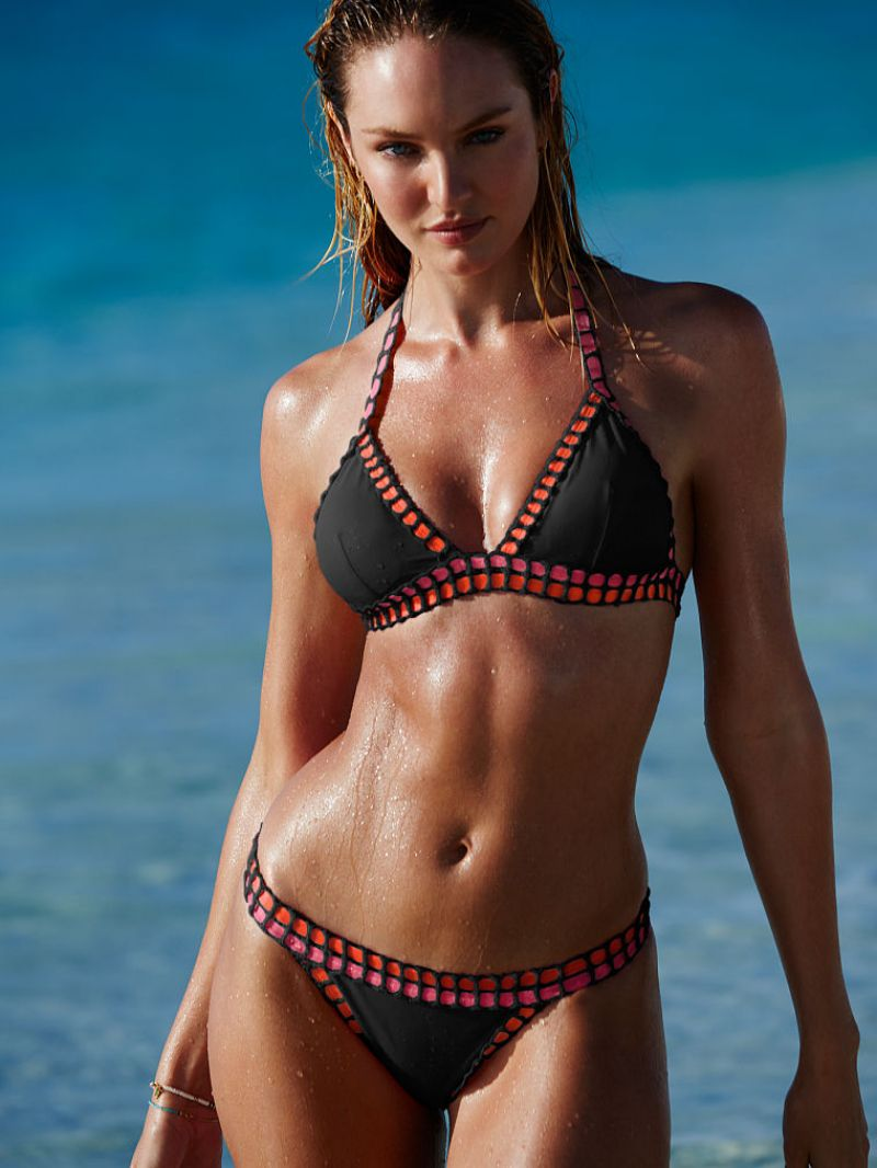 Candice Swanepoel Victoria S Secret Bikini July 2015
