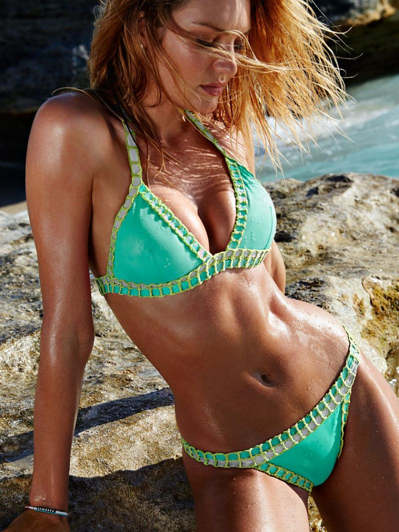 Candice Swanepoel Victoria S Secret Bikini July 2015