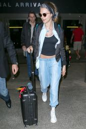 Cara Delevingne Airport Style - LAX, July 2015