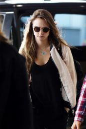 Cara Delevingne at an Airport in Sydney, Australia, July 2015