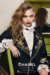 Cara Delevingne - Chanel Pre-Fall 2015 Photoshoot