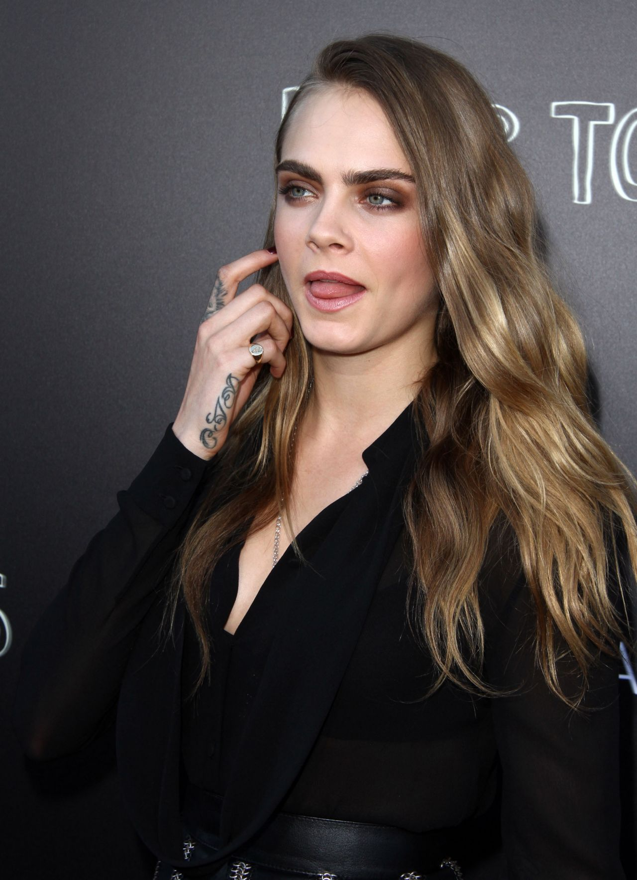 Cara Delevingne - 'Paper Towns' Q&A and Concert in Los Angeles