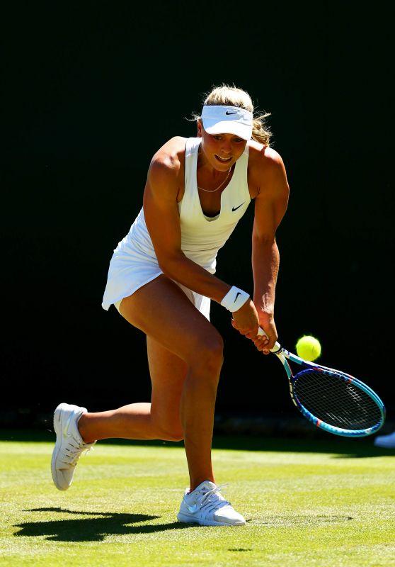 Carina Witthöft – Wimbledon Tournament 2015 – First Round