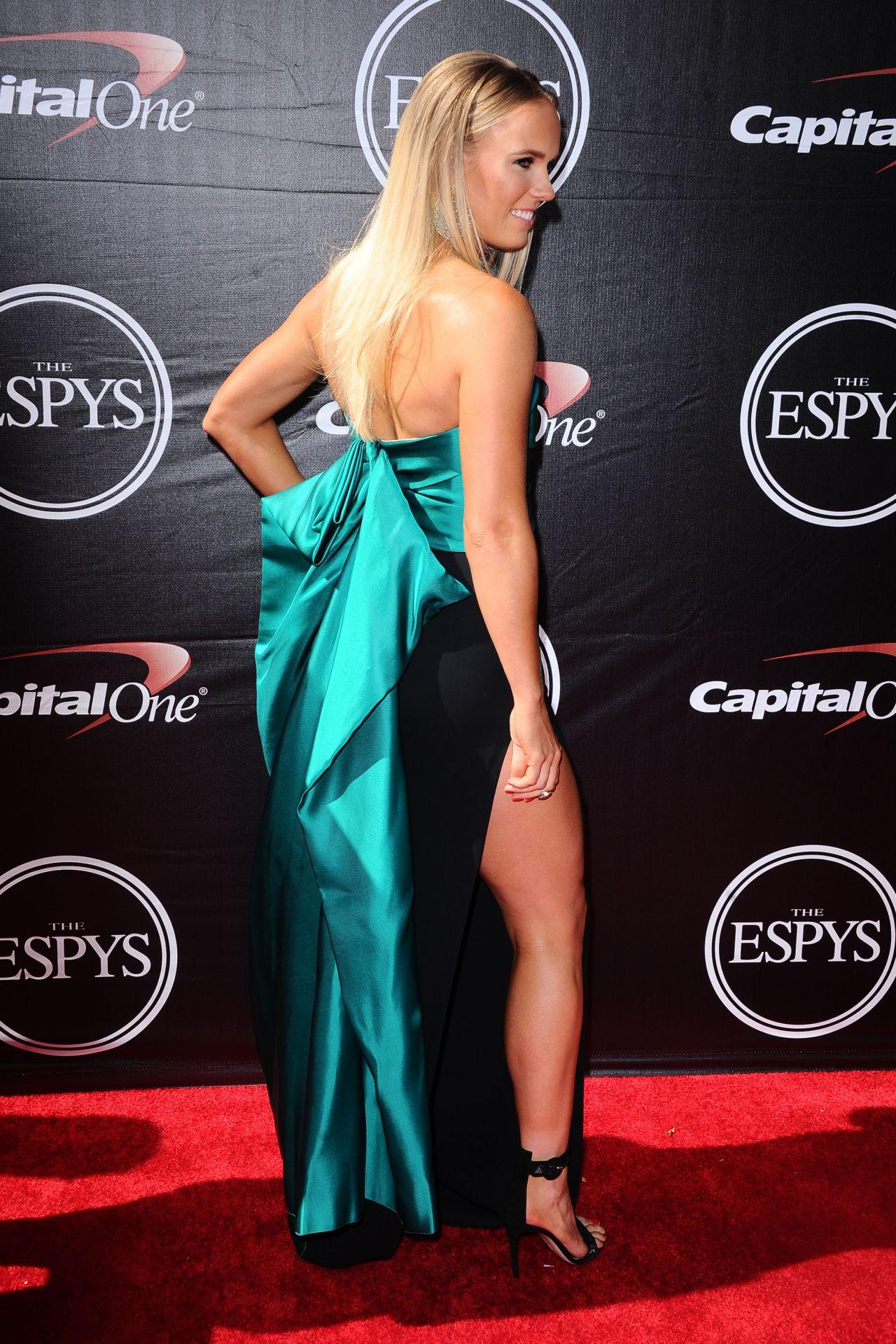 Caroline Wozniacki 2015 Espys In Los Angeles