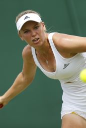 Caroline Wozniacki – Wimbledon Tournament 2015 – Second Round