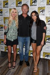 Cassie Scerbo - Sharknado 3 Press Line at Comic Con in San Diego