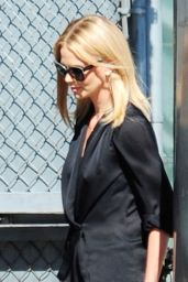 Charlize Theron - Arriving to Appear on Jimmy Kimmel Live! in Hollywood, July 2015