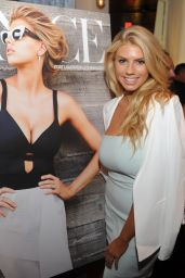Charlotte McKinney Fashion - Venice Magazine Cover Dinner in Miami