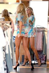 Charlotte McKinney Hot Leggs - Shopping in West Hollywood - July 2015