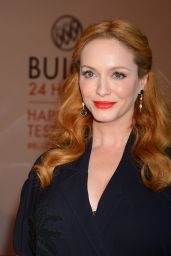 Christina Hendricks - 24 Hours of Happiness Test Drive Event at Ace Museum in Los Angeles