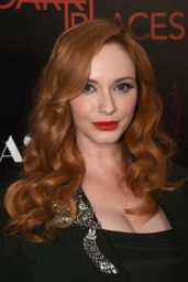 Christina Hendricks – DIRECTV's Dark Places Premiere in Los Angeles