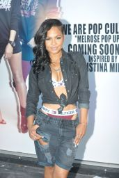Christina Milian at Her We Are Pop Culture Pop Up Shop in Melrose, July 2015