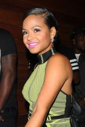 Christina Milian - Outside 1Oak Nightclub in Los Angeles, June 2015
