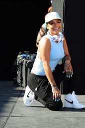 Christina Milian - #WCW Block Party in Los Angeles, July 2015
