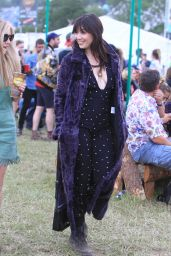 Daisy Lowe - 2015 Glastonbury Festival in London