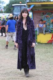 Daisy Lowe - 2015 Glastonbury Festival in London