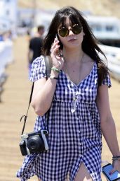 Daisy Lowe Summer Style - Out in Malibu, July 2015