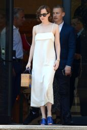 Dakota Johnson Summer Style - Barcelona, Spain, Julne 2015