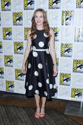 Danielle Panabaker - The Flash Press Line at Comic Con in San Diego