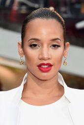 Dascha Polanco on Red Carpet - Mission Impossible: Rogue Nation Premiere in New York City