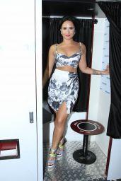 Demi Lovato at SiriusXM Studios in New York City, July 2015
