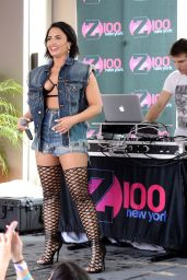 Demi Lovato Z100 Cool For The Summer Pool Party Tour
