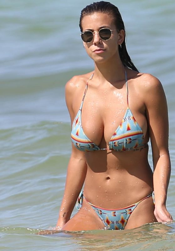 Devin Brugman Hot in a Bikini - Miami, July 2015