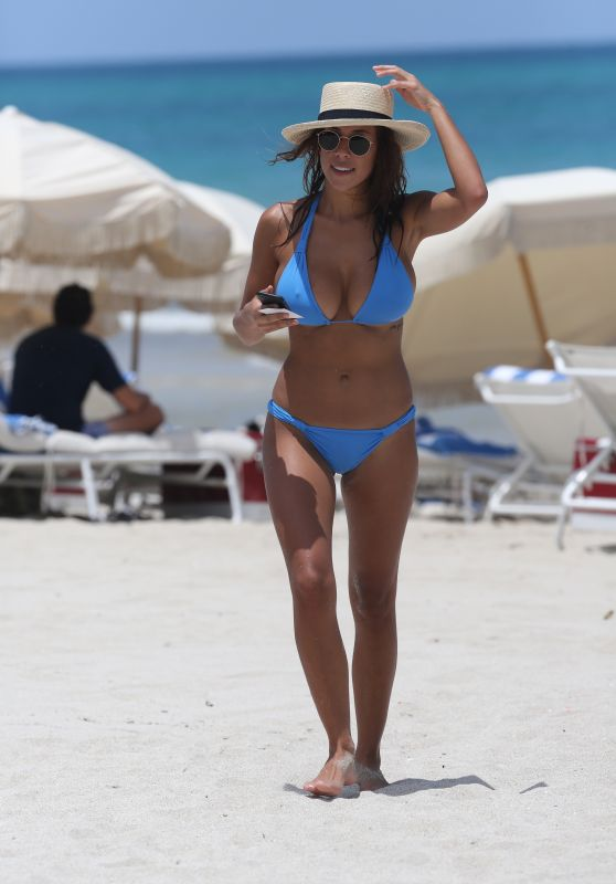 Devin Brugman Wearing a Bikini in Miami, July 2015