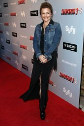 Dina Meyer – 'Sharknado 3: Oh Hell No!' Premiere at iPic Theaters in Los Angeles