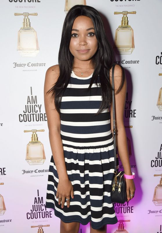 Dionne Bromfield - Juicy Couture `I Am Juicy` Fragrance Launch in London