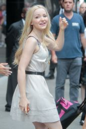 Dove Cameron at Good Morning America in New York City, July 2015