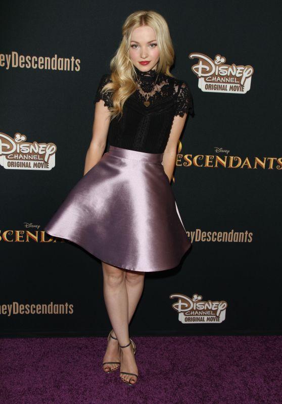 Dove Cameron – Disney's 'Descendants' Premiere in Burbank