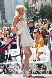 Dove Cameron - Kristin Chenoweth Star on the Hollywood Walk of Fame Ceremony