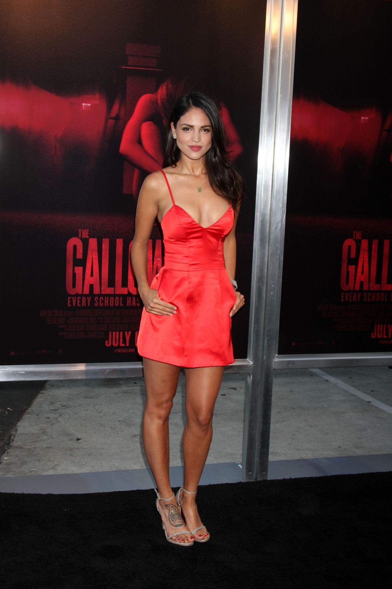 Eiza Gonzalez The Gallows Premiere In Los Angeles