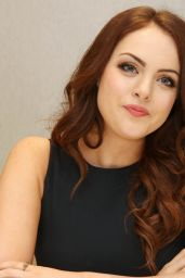 Elizabeth Gillies - Sex&Drugs&Rock&Roll Press Conference Portraits in Los Angeles