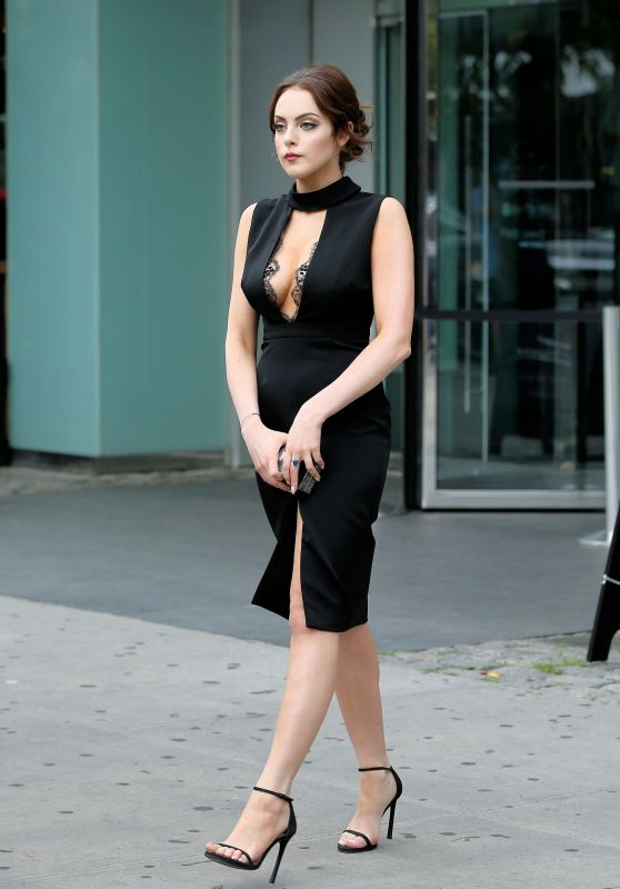 Elizabeth Gillies Style - Leaving Her Hotel in New York City, July 2015