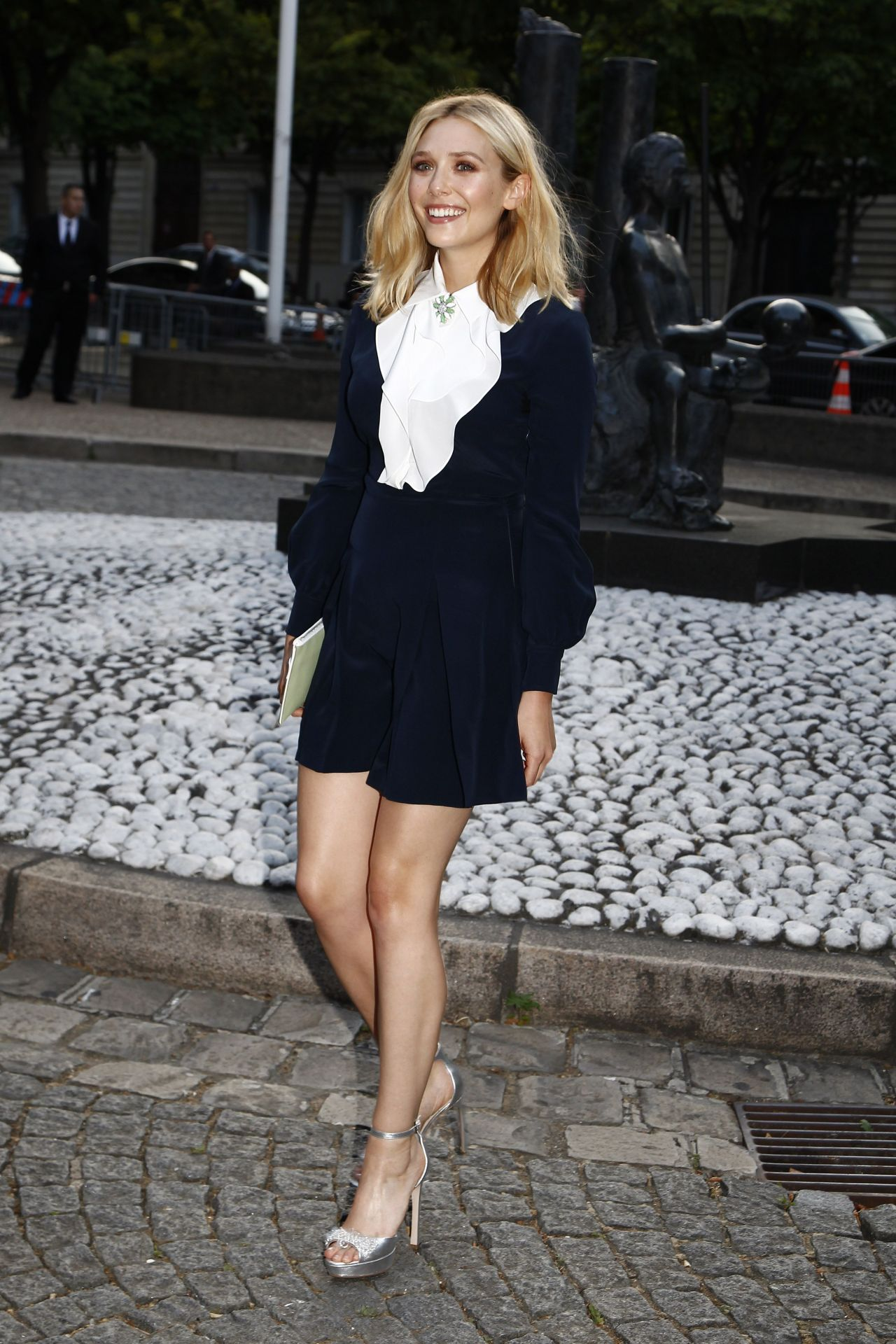 Elizabeth Olsen - Miu Miu Fragrance And Croisiere 2016 Collection Launch in Paris