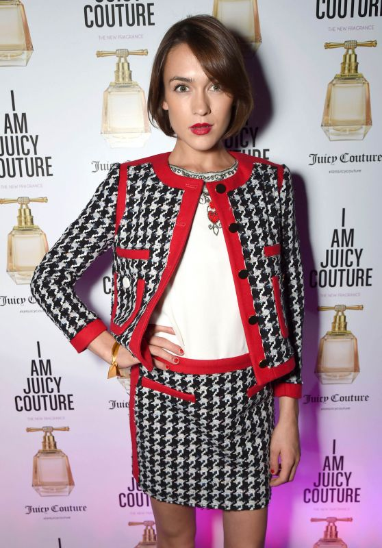 Ella Catliff - Juicy Couture `I Am Juicy` Fragrance Launch in London