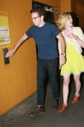 Elle Fanning Leaving the Arclight Theatre Hollywood, July 2015