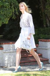Elle Fanning - Out in Beverly Hills, July 2015